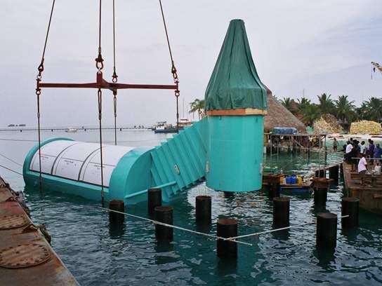 Underwater Restaurants Undersea Dining World First Living Seas